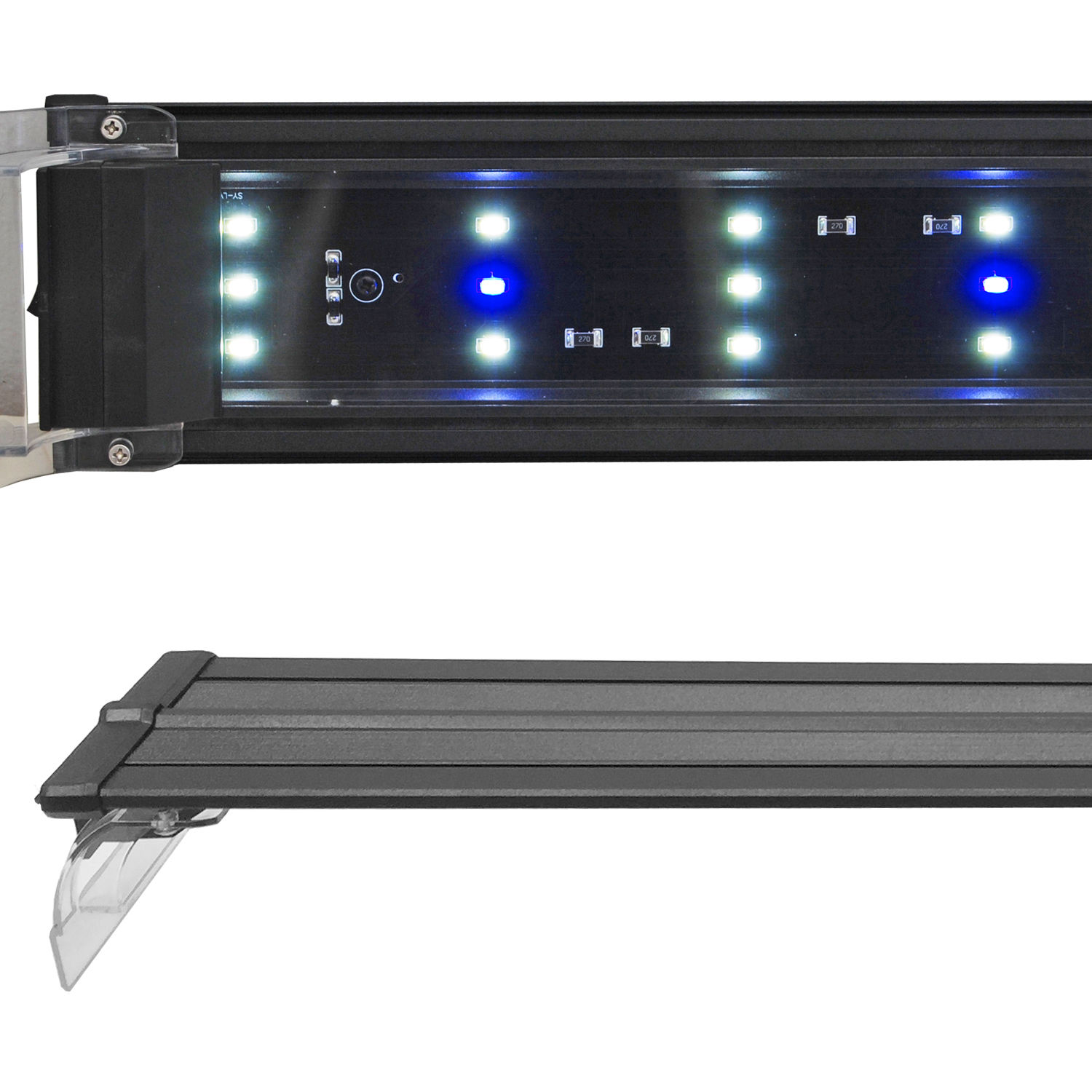 "48"" LED Aquarium light perfect for cichlid tanks"