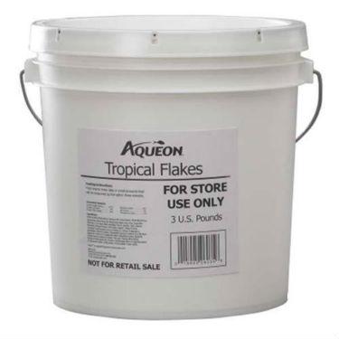 Aqueon Tropical Flakes Fish Food 3 Lb Bucket