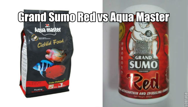 Which is better Grand Sumo Red vs Aqua Master?