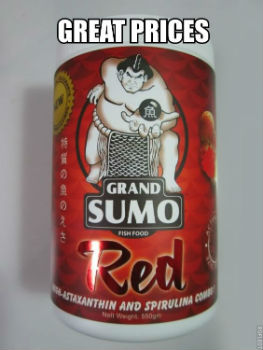 Grand Sumo Red Prices and FREE Expedited Shipping