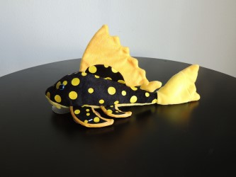Plecostomus Plush Toy Sunshine Catfish
