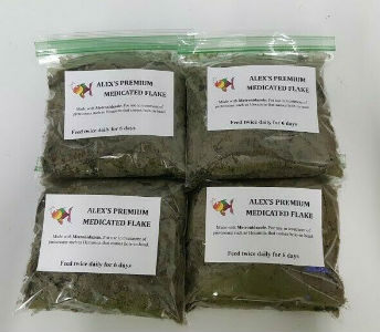 Medicated Tropical Fish Flake Food