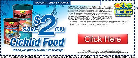 Save on Tetra Cichlid Food