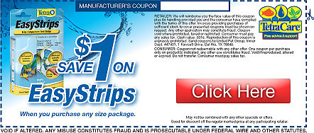 Save on Tetra EasyStrips