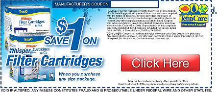 Save on Tetra Filter Cartridges