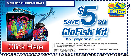 Save on Tetra GloFish Kits